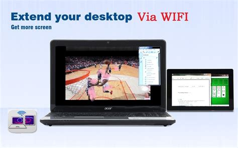 android tablet as second monitor extend laptop display pro turn your phone tablet as a second monitor via wifi usb