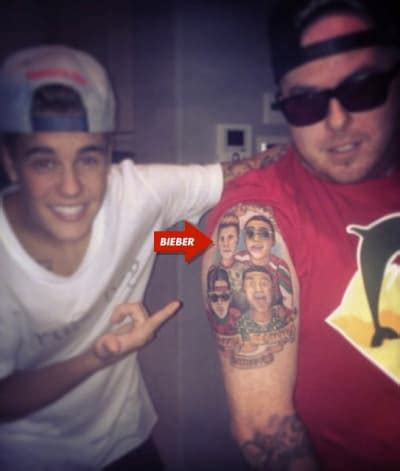 justin bieber jester tattoo the hollywood gossip celebrity weed dealer closely inked to justin bieber