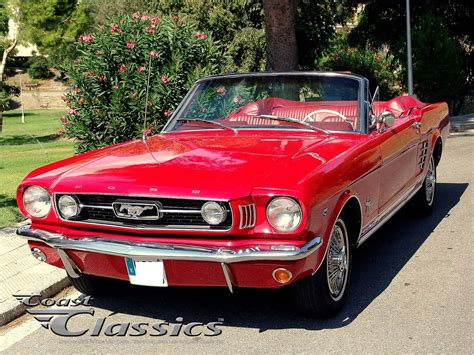 classic ford mustang convertible 1966 ford mustang convertible 200 cid coast classics