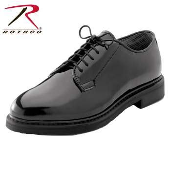 rothco oxford shoes rothco hi gloss oxford dress shoe