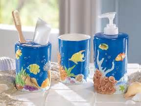 fishing bathroom accessories tropical fish bathroom decor home interior design