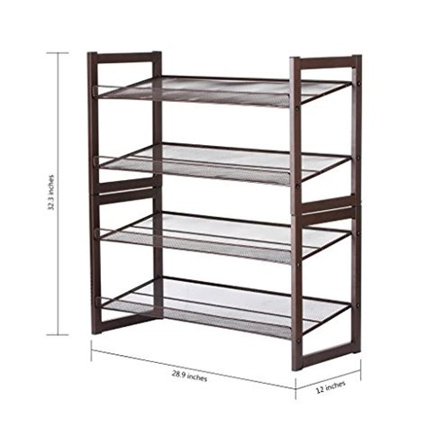 Ready Made Closet Organizers 28 Images 9 Storage Ideas For Small Closets 1000 Ideas About Floureon 4 Tier Metal Mesh Utility Shoe Rack Storage Organizer 28 9 215 12 215 32 3 Inch Bronze