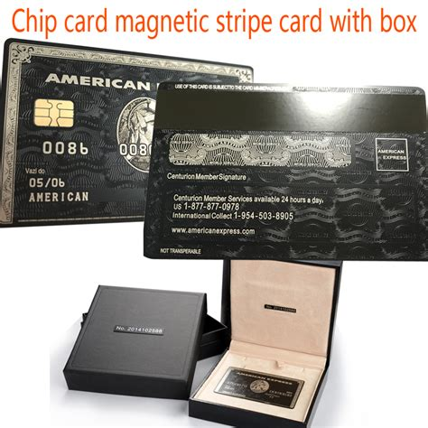 Buy Amex Gift Card In Store - aliexpress com buy chip card magnetic stripe card with the box american express card