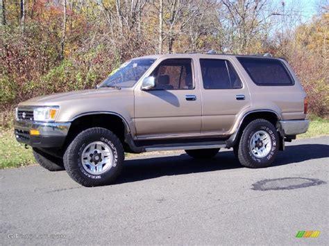1995 Toyota 4runner Sr5 V6 1995 Beige Metallic Toyota 4runner Sr5 V6 4x4