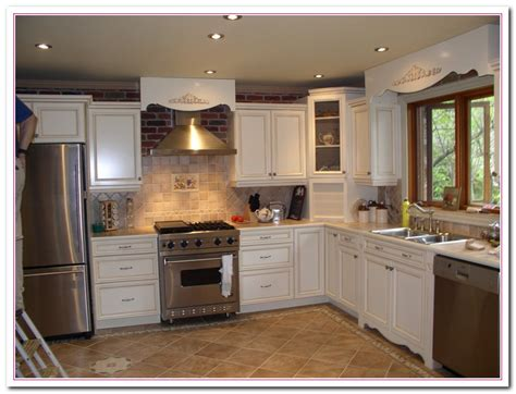 White Kitchen Remodeling Ideas White Kitchen Design Ideas Within Two Tone Kitchens Home And Cabinet Reviews
