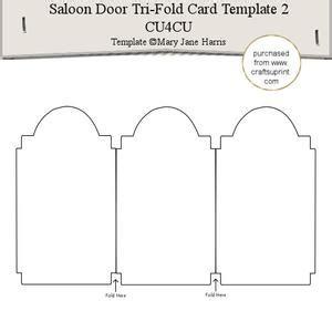 Gate Fold Card Template by Scalloped Gatefold Card Template Cu4cu