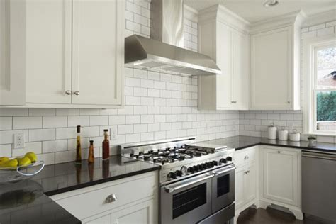 white subway tile kitchen how to choose the right backsplash for your granite