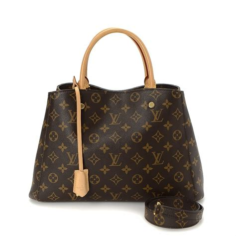 Tas Louis Vuitton Seri 5018 louis vuitton montaigne bb monogram coated canvas lxrandco pre owned luxury vintage