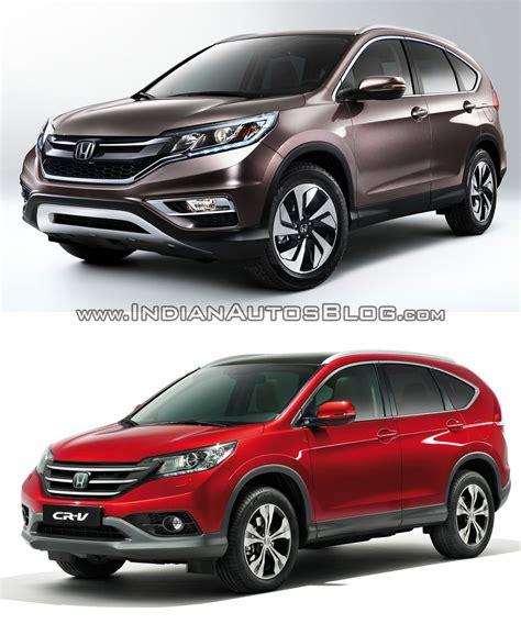 Drl Honda Crv 2015 2017 2015 honda cr v facelift vs pre facelift model