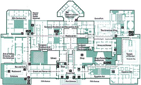 in italy the metropolitan museum of floor plans