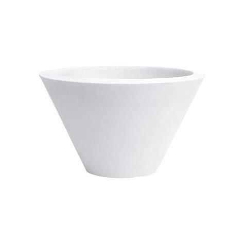 vaso resina bianco vasi in resina chiron nicoli