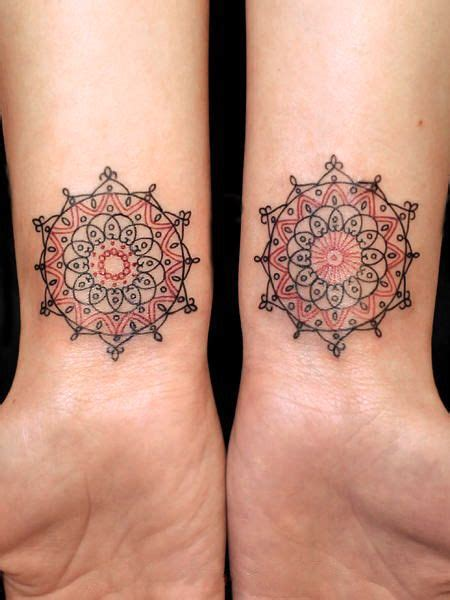 sun mandala tattoo geometric sun tattoos wrist beautifully tattooed