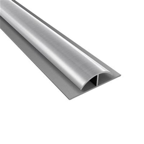 4 ft large profile brushed aluminum divider trim 179 08