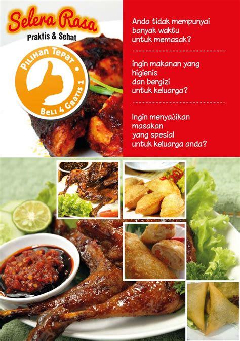 desain brosur kuliner 60 contoh desain brosur makanan ayeey com