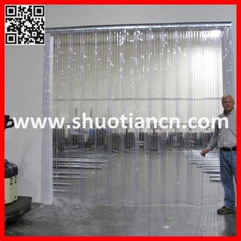 cool curtain industries rideau flexible transparent en porte 224 lamelles de pvc st