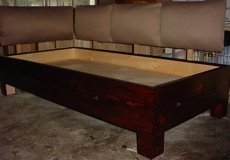 wood build a daybed pdf plans pdf plans platform bed construction plans download g plan