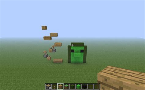 doodle jump in minecraft minecraft doodle jump minecraft project