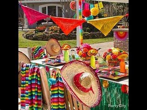ideas de decoracion  fiesta mexicana de