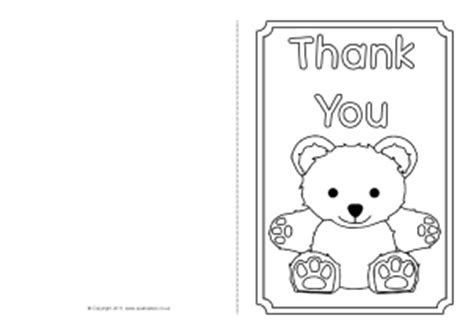 Thank You Letter Template Sparklebox Printable Greeting Cards Template Printable Template 2017