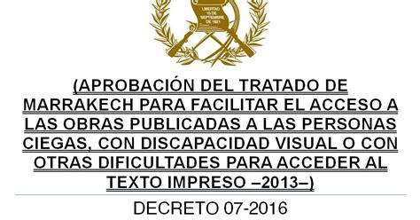 decreto 2423 de 2016 leyes acuerdos y temas de guatemala decreto 07 2016