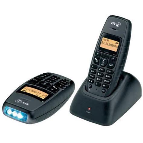 rugged cordless phone bt elements rugged cordless handset lcd 1000m ip54 grey bt61076