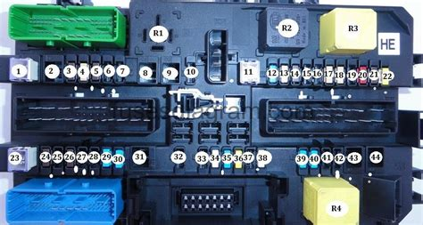 vauxhall zafira fuse box diagram 2010 wiring diagrams