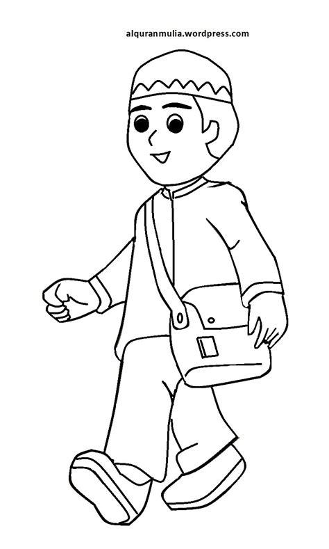 desain gambar mewarnai download 31 gambar mewarnai anak muslim desain hidupmu
