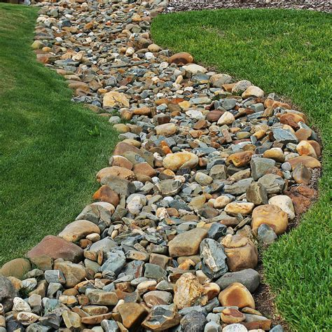 dry creek bed for drainage petty s irrigation landscape ltd drainage french drains