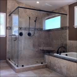 bloombety glass shower doors miami with brown walls add