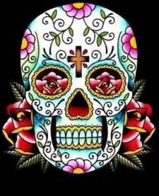 Sugar skull tattoo designs crazy body tattooscrazy body tattoos
