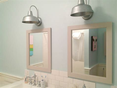 martha stewart bathroom fixtures outdoor galvanized light fixtures from lowes mirrors are