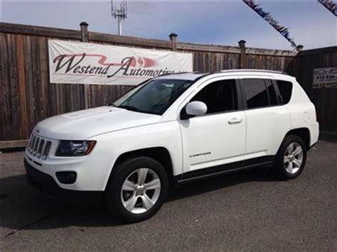 jeep compass sunroof 2014 jeep compass north sunroof ottawa ontario used
