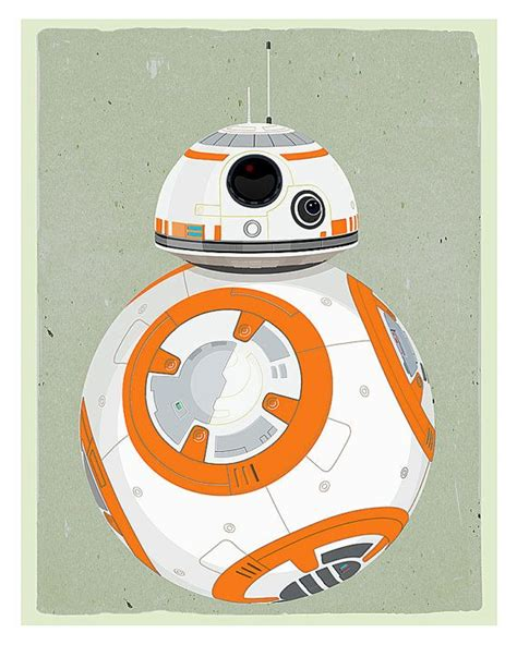 Poster A3 Wars Bb8 bb8 wars poster 8x10 11x14 or 16x20 print the