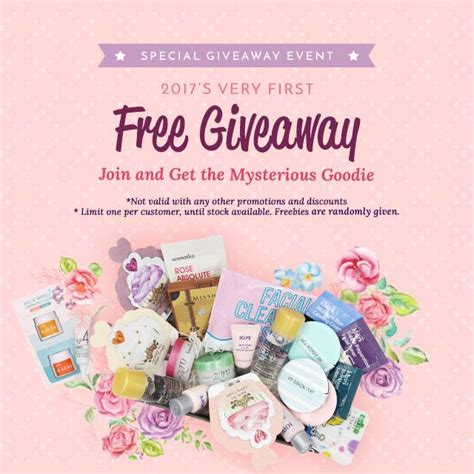 Free Makeup Giveaways Sles - althea korea special free giveaway event beauty cosmetic cosmetic makeup