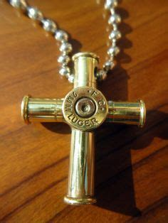 how to make jewelry from bullet casings bullet casing cross pendant necklace small see more