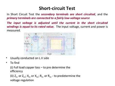 transformer impedance and efficiency electrical engineering