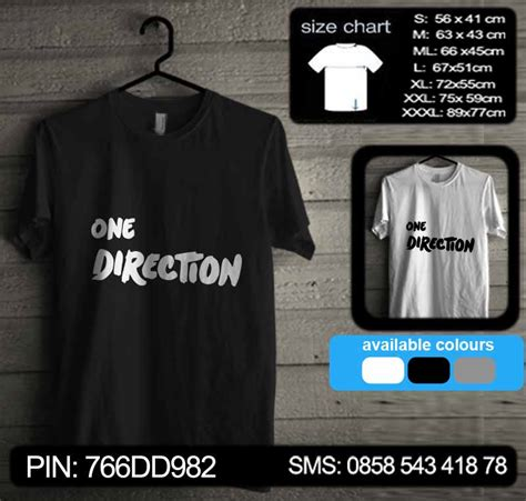 Kaos One Direction 06 Raglan one direction 06 baju kaos distro murah