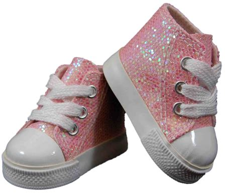 shoes and clothes pink high top sneakers shoes for 18 quot american 168 doll