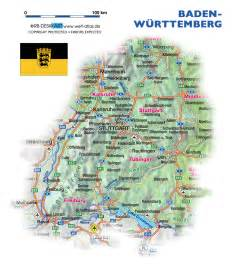 Baden Germany Map by Map Of Baden Wuerttemberg Germany Map In The Atlas Of
