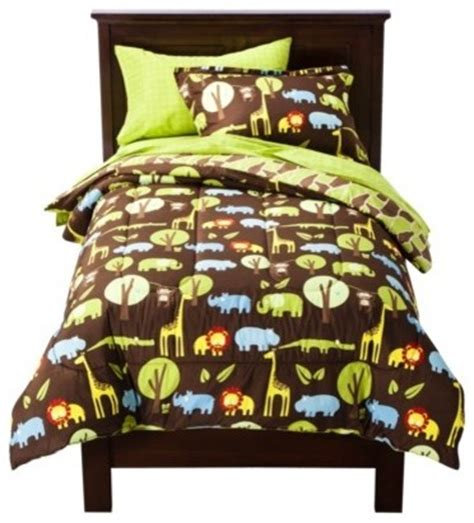 target kids comforters circo safari bed set contemporary kids bedding by target