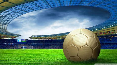 soccer stadium ultra hd desktop background wallpaper