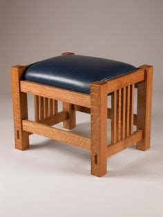 Mission Style Ottoman Woodworking Forum Benches And Woodworking On Pinterest