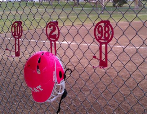 Helmet Racks For Dugouts by Dugout Organization I Like It Softball