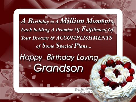 Birthday Quotes For A Grandson 18th Birthday Grandson Quotes Quotesgram