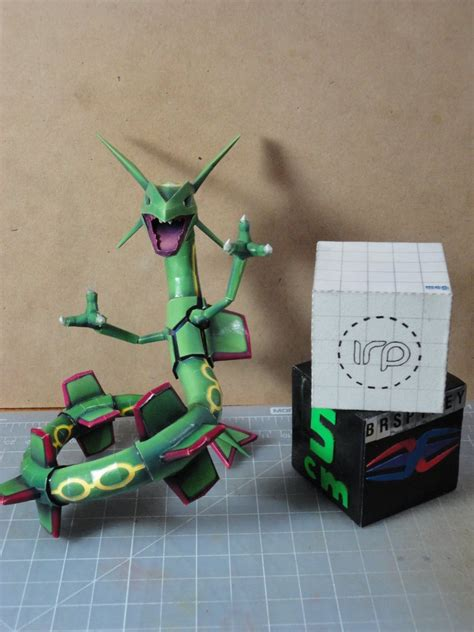 Rayquaza Papercraft - rayquaza papercraft size comparison by brspidey on deviantart