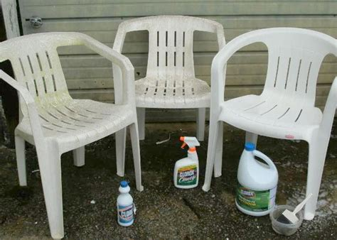 Cleaning Plastic Chairs Outside - cleaning those resin chairs