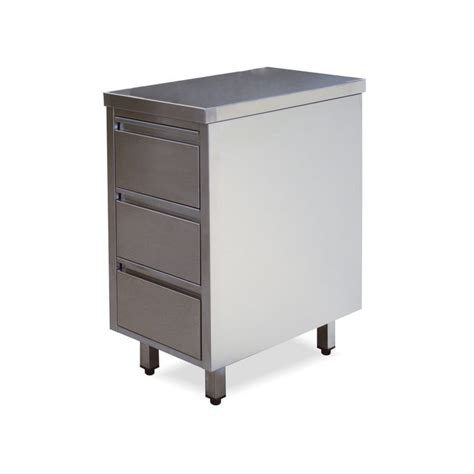 Stainless Steel Drawers by 304 Stainless Steel Drawers With 3 Drawers Of Slides