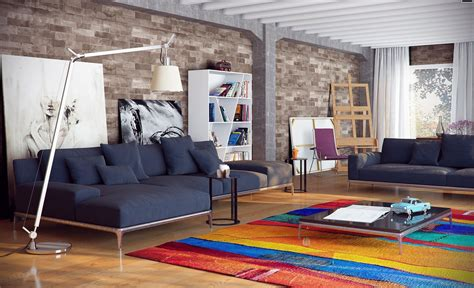 colorful rugs for living room light filled contemporary living rooms