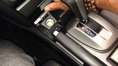 adjusting parking brake   honda accord crosstour