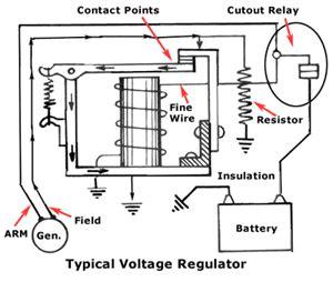 automotive voltage regulator wiring diagram 43 wiring